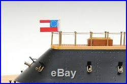 CSS VIRGINIA IRONCLAD WARSHIP 28 Wood Model Collectible Nautical Ship Civil War