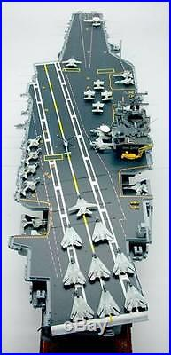 Cvn 65 Uss Enterprise Aircraft Carrier Display Mahogany