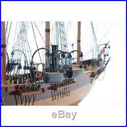 Civil War CSS Alabama SHIP REPLICA 31 No-Sails Display Wood Model Collectible
