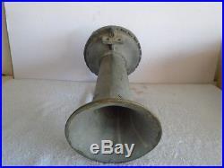 Clark Cooper Type 6 Brass Ships Air Horn Whistle Navy Tug Boat Light House Fog