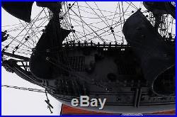 Collectible OMH Black Pearl Pirate Model Ship Medium