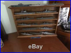 Collection of 15 Navis Neptune 1250 scale Waterline Ship Models