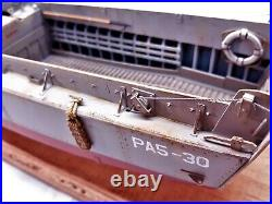 D-Day LCVP / 1-35 Pro Built / FREE SHIPPING