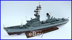 DDG-9 USS Towers Charles F. Adams-class Destroyer Battleship Wooden Model 39