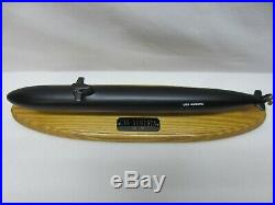 Desk Display Submarine of the SSN-710 USS Augusta a Los Angeles Class SubBoat