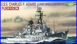 Dragon 1/700 U. S. S. Charles F. Adams missile destroyer Premium Edition Model A11
