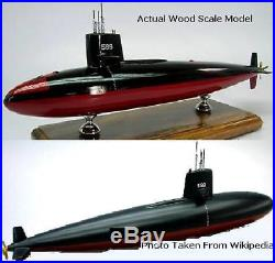Dynamics USS Scorpion USA Submarine Wood Model Regular