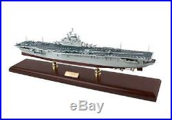 Executive Series Ship Uss Intrepid Aircraft Carrier 1/350 Scale Wooden Scmcs019