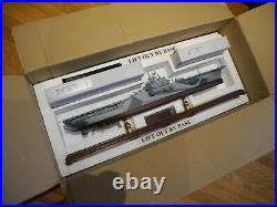 Extremely RARE Franklin Mint U. S. S. Yorktown CV-10 Carrier, Limited Production