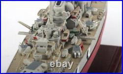 FOV Germany Bismarck battleship Series 1/700 diecast model ship