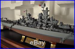 Franklin Mint U. S. Battleship Bb-63 U. S. S. Missouri With Display Case 1555 Scal