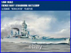 FRENCH NAVY STRASBOURG BATTLESHIP 1/350 ship Hobbyboss model kit 86507