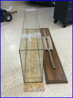 Fine Art Models Display Base and Glass Case
