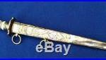 Fine quality Georgian Napoleonic Era British Naval Dirk English Navy Dagger
