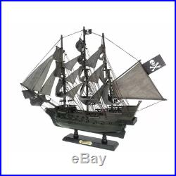 Flying Dutchman PIRATE SHIP MODEL 26 Nautical Decor Display Wooden Collectible