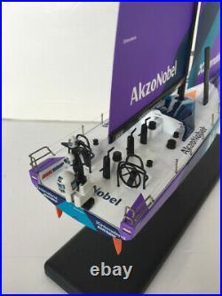 For Akzo Nobel for VOLVO V065 Brunel yacht 14401 1/50 diecast model ship