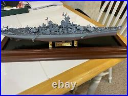 Franklin Mint Battleship U. S. S. Missouri