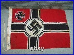 German Naval Navy Ship's Flag