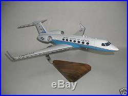 Gulfstream 550 USA Wood Airplane Model big
