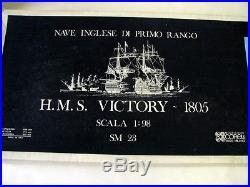 H. M. S. Victory 1805 Wooden Ship Model 198 Scale Mib, A Beauty