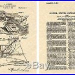 HIGGINS BOAT 1941 Vintage Patent Art Print READY TO FRAME! WWII LCM World War