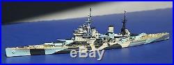 HMS Anson 1943 Customized Neptun 1/1250 waterline model