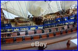 Hms Bellona 74 Gun Royal Navy Ship 38 Handmade Wooden