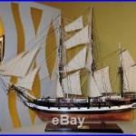 HMS Beagle Ship Model 37 by master craftsmen-Handmade Wooden Tall Ship Model