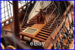 HMS Fairfax Model Ship Fully Assembled
