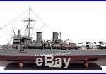 HMS Gotland Gotland-class Swedish Navy Battleship Ship Model 39 Wooden Model