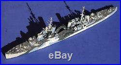 HMS Liverpool 1942 Neptun 1/1250 metal waterline model