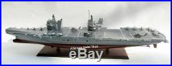 HMS Prince of Wales Aircraft Carrier (R09) Model 39 Handcrafted Wooden Model