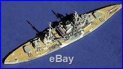HMS Queen Elizabeth 1943 Customized Neptun 1/1250 waterline model
