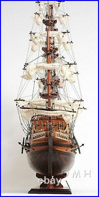 HMS Sovereign of the Seas 1637 Tall Ship Wooden Model 37 Fully Assembled New