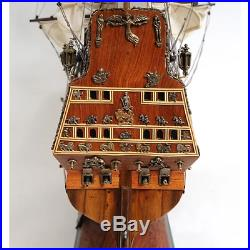 HMS Sovereign of the Seas DISPLAY SHIP 37 Large Model 16th Century Collectible