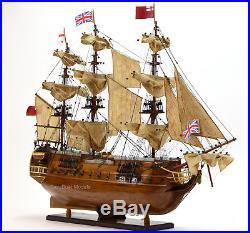 HMS Surprise Tall Ship Model 37 Built Sailboat Seen In Master & Commander