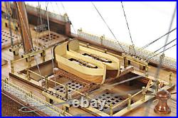 HMS Surprise Tall Ship Model 37 Master & Commander with Table Top Display Case