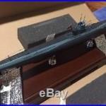Handcrafted German U-Boat Submarine Desk Display Model by Modelworks 1/125 scale