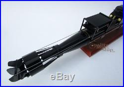 Handcrafted Human Torpedo SLC Ready Display Model NEW