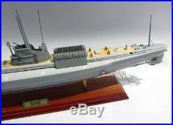 Handcrafted Italian Submarine Scirè (1938) Ready Display Ship Model NEW