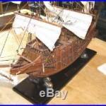 Handmade All-Wood Model of Multi-level Cannon SpanishGalleon
