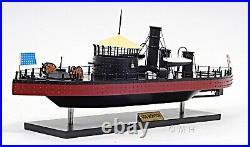 Handmade Ship Model USS Monitor Fully Assembled