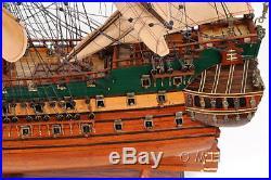 Holland Frigate Friesland Wooden Model 29 Tall Ship Built Sailboat New
