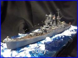 Imperial Japanese Navy heavy cruiser Suzuya 1/700 finished product