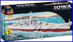 Iowa US Battleship BB-61 1071 Pieces