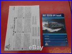 Italeri Elco 80-Foot Torpedo Boat Pt 596 No. 5602 Ship Submarine