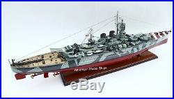 Italian Roma 1940 Battleship Model 39 Handcrafted Wooden Model NEW