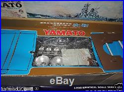JPM 1/200 SCALE MODEL OF IMPERIAL JAPANESE NAVY YAMATO SUPER DREADNOUGHT