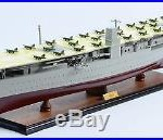 Japanese Aircraft Carrier AKAGI 40 Handmade Wooden Warship Model