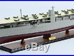 Japanese Aircraft Carrier AKAGI 40 Handmade Wooden Warship Model NEW